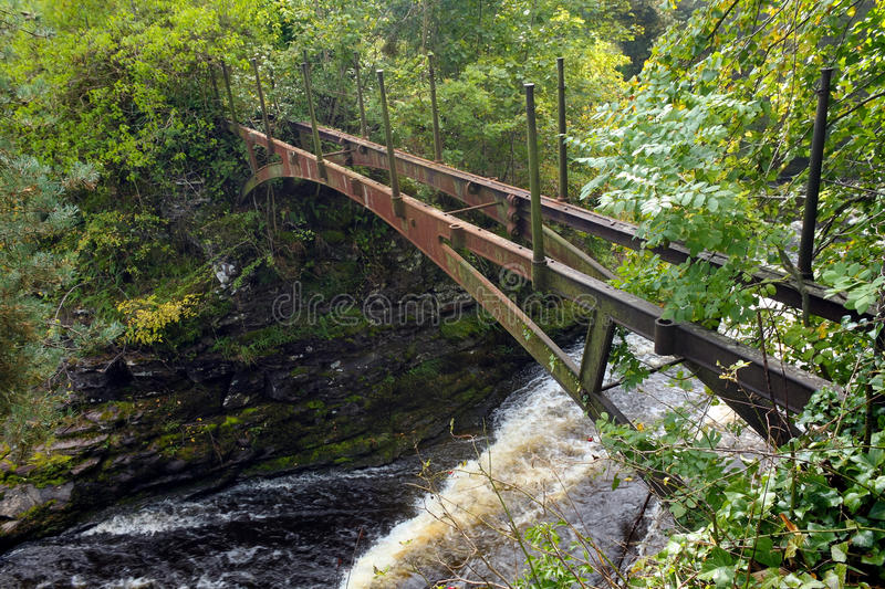 River Clyde, New Lanark royalty free stock images