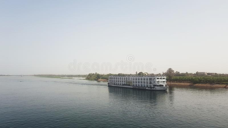 River Cruise Boat on the Nile stock photos