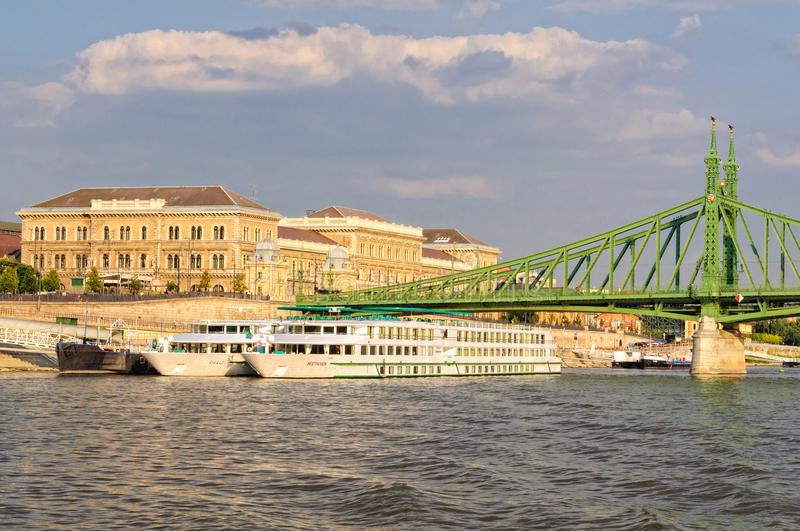 River cruise - Budapest royalty free stock images