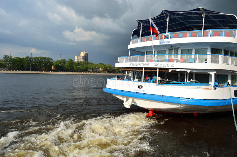 Download River cruise ship editorial stock photo. Image of leisure - 22673238