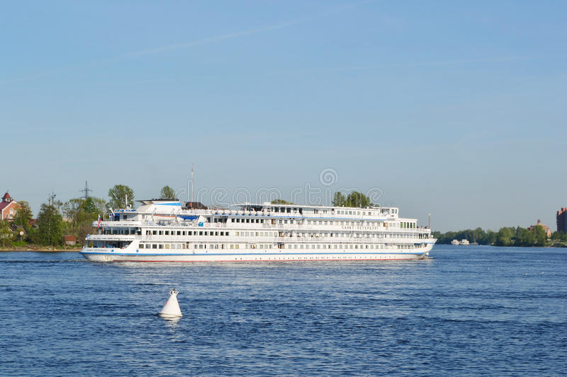 Download River Cruise Ship Sailing On The River Neva Editorial Stock Image - Image: 22605334
