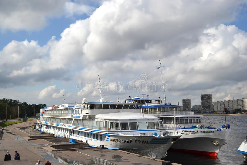 Download River cruise ships editorial stock image. Image of transportation - 25788184