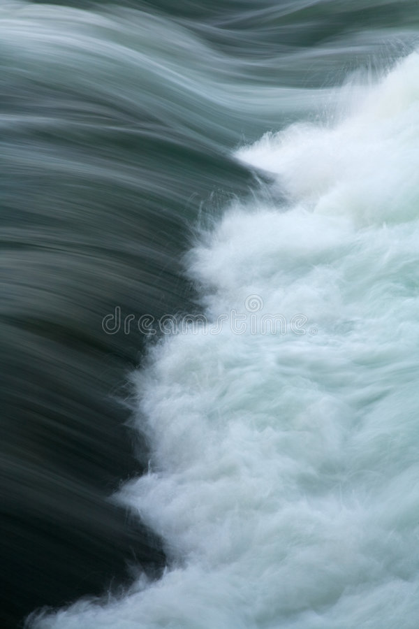 River Current Whitewater Rapids royalty free stock images