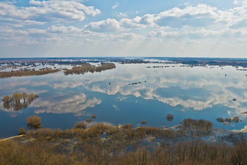 River Dnepr in spring time