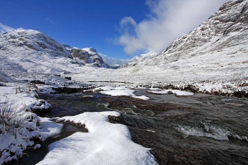 Download The River Etive Stock Photo - Image: 4541900