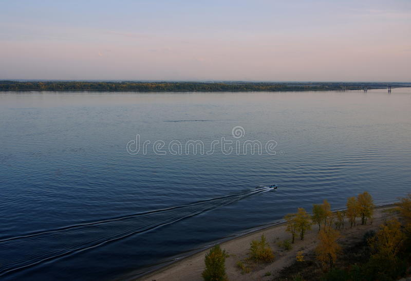 River expanse royalty free stock images