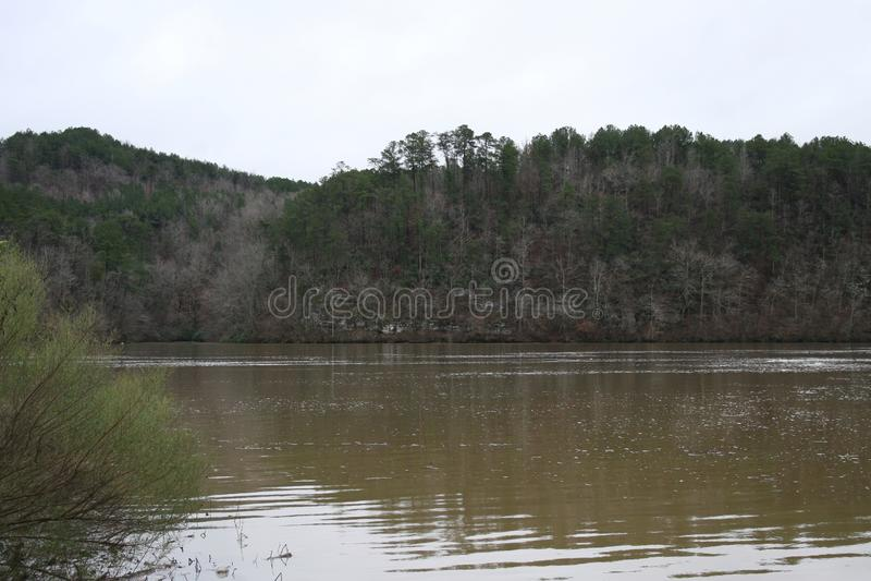 River Flows in Alabama 2019 stock image