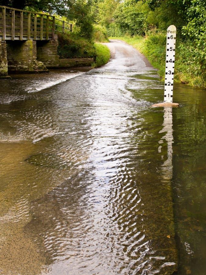 River Flow Measuring Pole