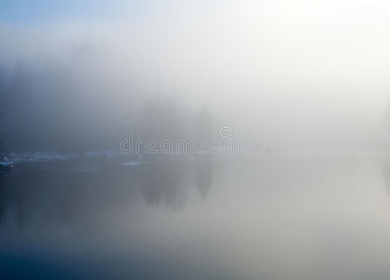 Download River In A Frosty Mist, Stock Photography - Image: 11413902