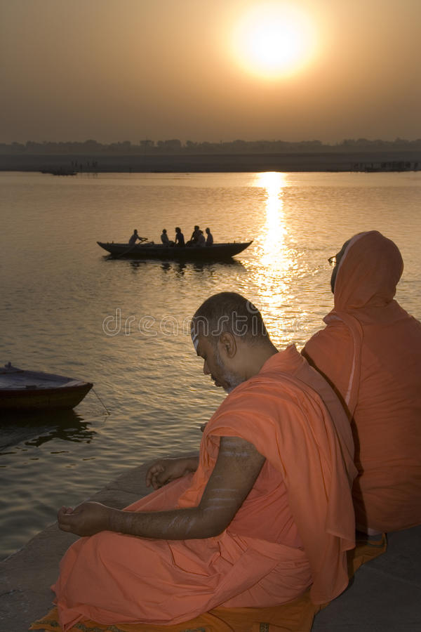 Download River Ganges - India editorial image. Image of tranquil - 16289960