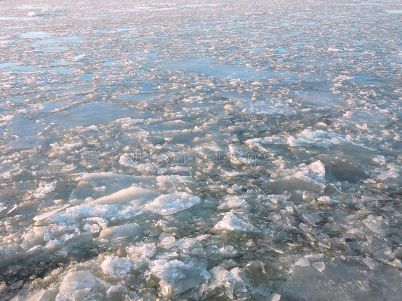 Download River in ice stock photo. Image of cold, white, piece - 83708756