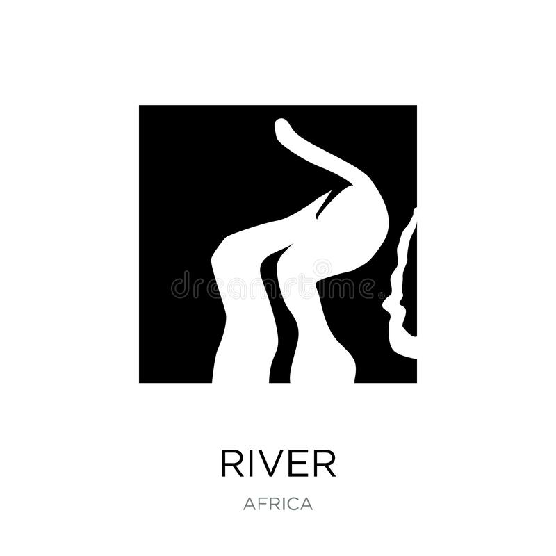 river icon in trendy design style. river icon isolated on white background. river vector icon simple and modern flat symbol for vector illustration