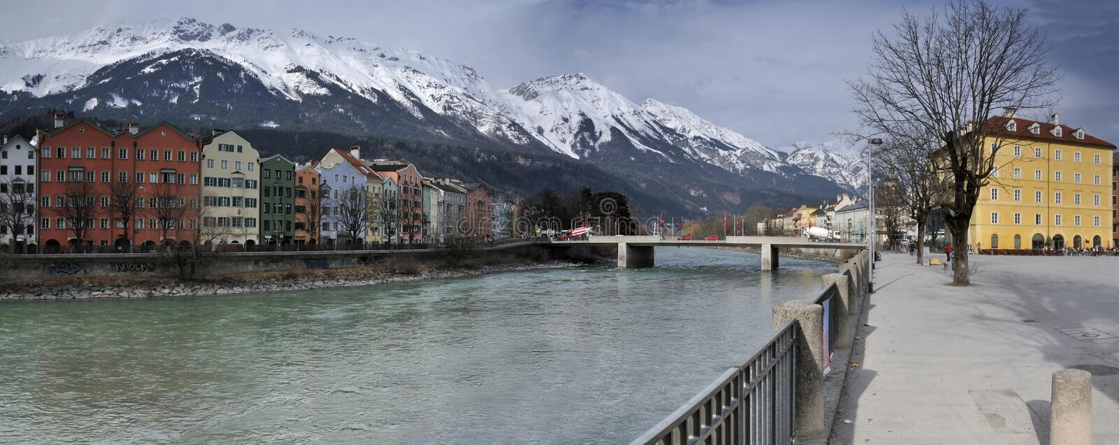 River Inn in Innsbruck