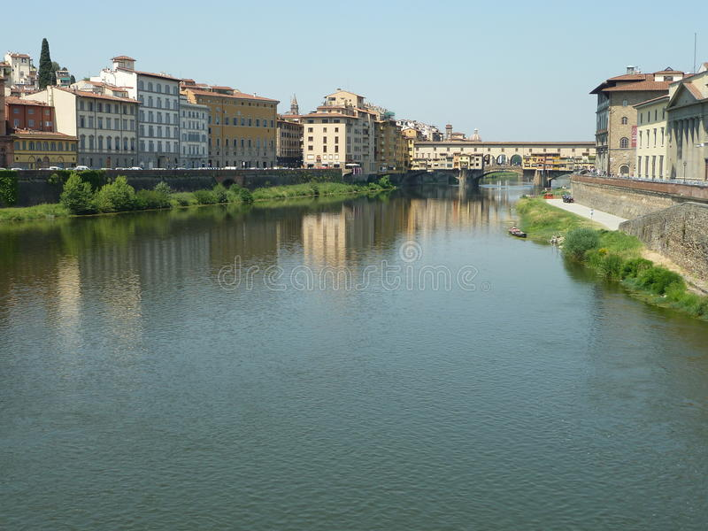 River in italy stock photo