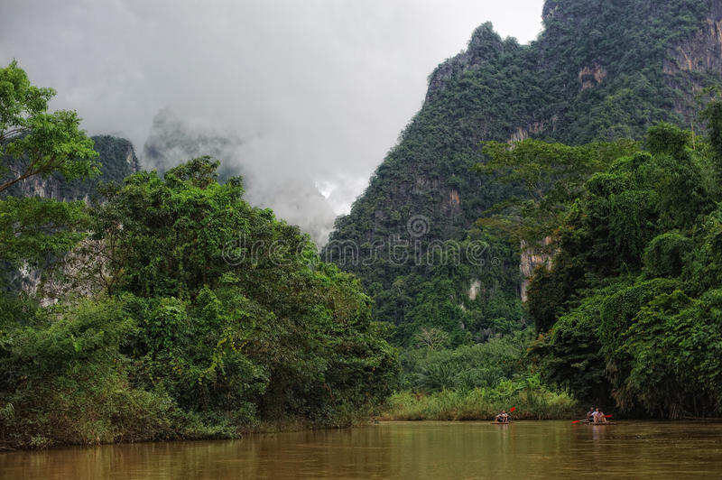 Download River in Jungle stock image. Image of park, nature, mountain - 19003405