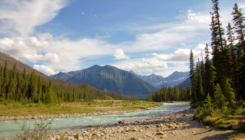 River in Kootenay royalty free stock image