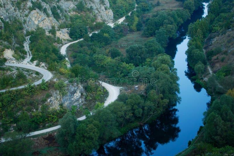 River Krka royalty free stock photos