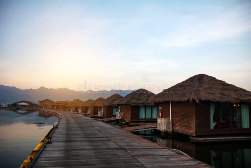 River Kwai Jungle Rafts Resort Kanchanaburi stock photography
