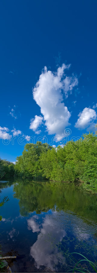 Free River Landscape Stock Photos - 5838793