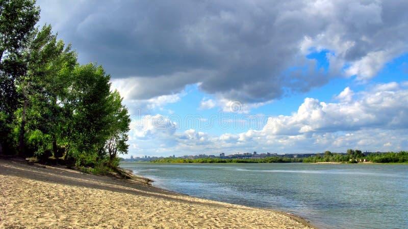 River landscape royalty free stock images