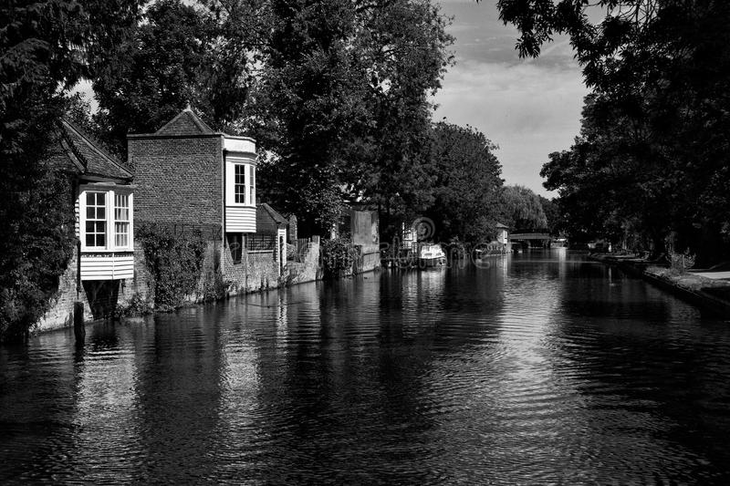 River Lee stock image
