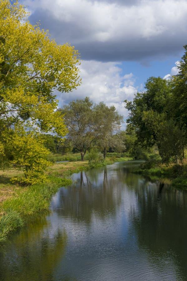 Free River Loddon,Hampshire, England Stock Photo - 132738620