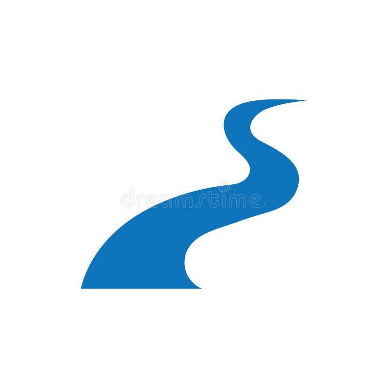 River  Logo Template vector icon stock illustration