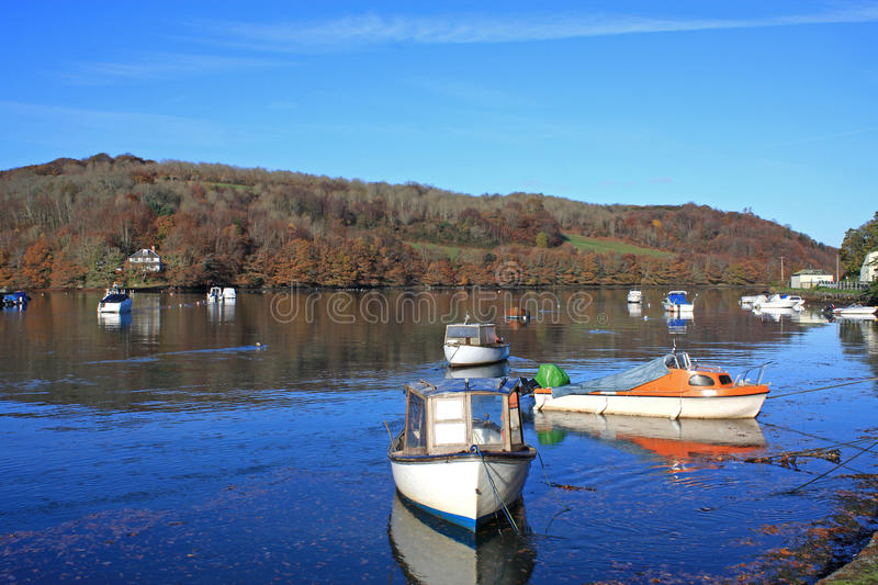 Download River Looe stock image. Image of colour, wood, boat, looe - 36699013