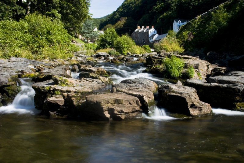 Download River Lyn in Exmoor stock photo. Image of home, water - 2038690