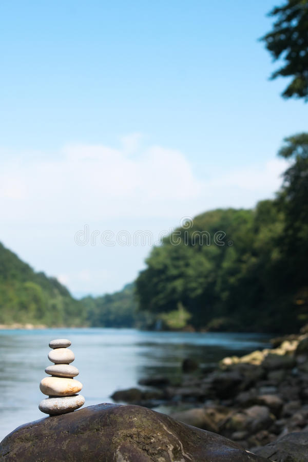 Download River meditation stock photo. Image of green, peaceful - 26480342