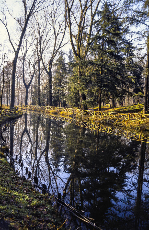 Download River in the Monza Park stock photo. Image of tree, outdoor - 29302190