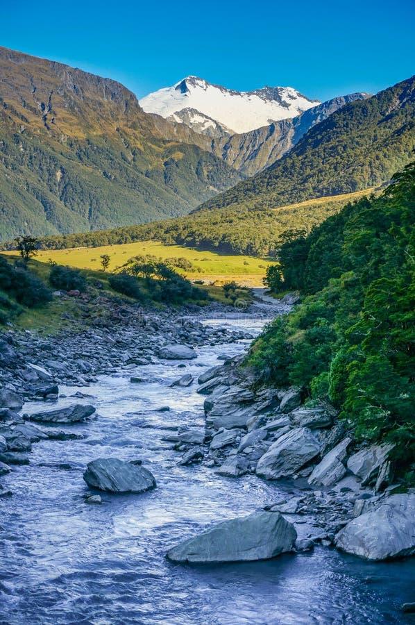 Mount Aspiring National Park, New Zealand royalty free stock photo