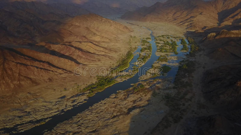 river in namibia royalty free stock photography