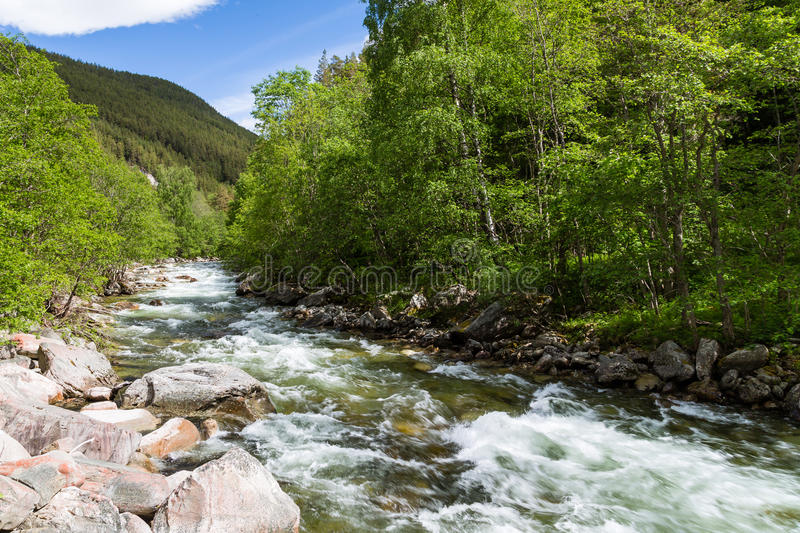 Download River in Norway stock photo. Image of hiking, panorama - 26940052