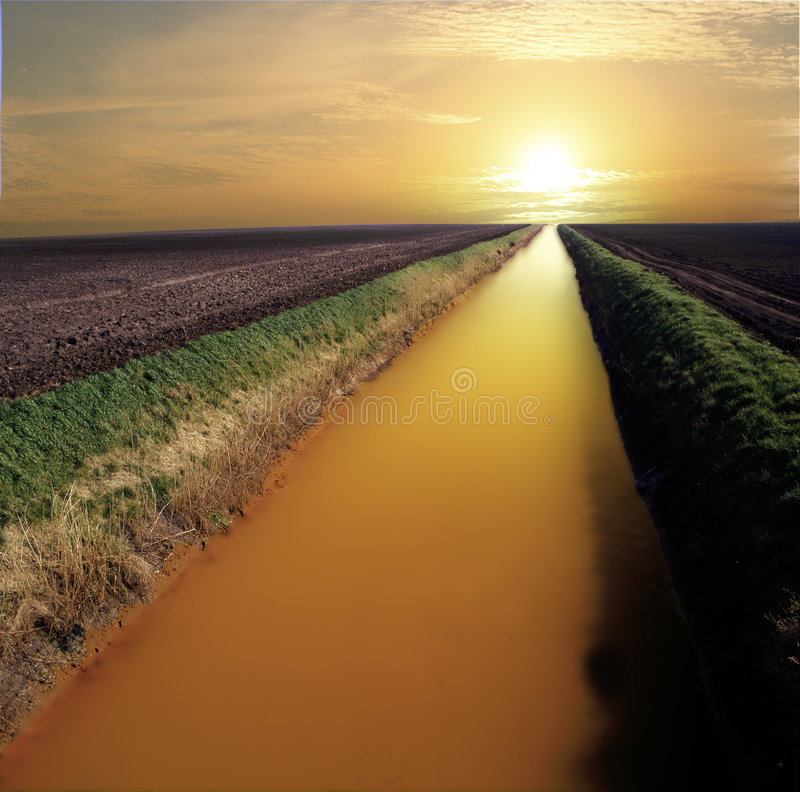 Free River Of Gold Stock Images - 8499144
