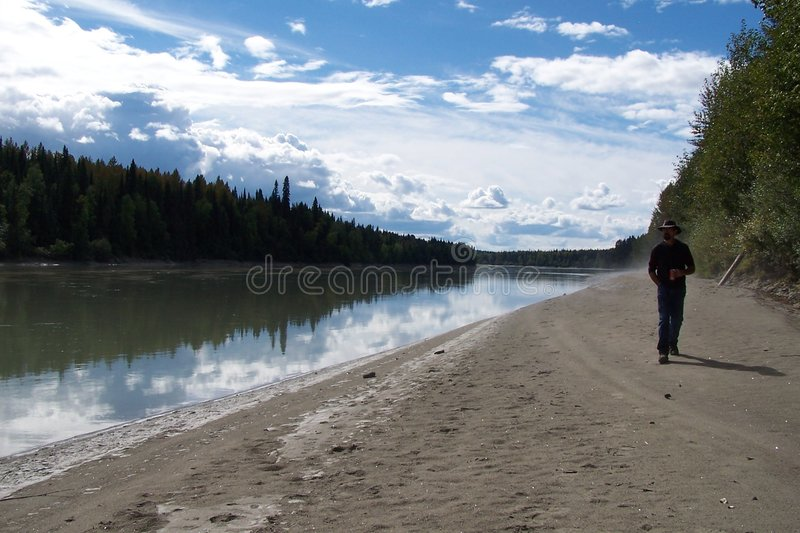 Download River Perspective stock image. Image of reflection, clouds - 85047