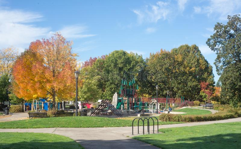 Download River Play Discovery Village Stock Photo - Image of autumn, playground: 103089080