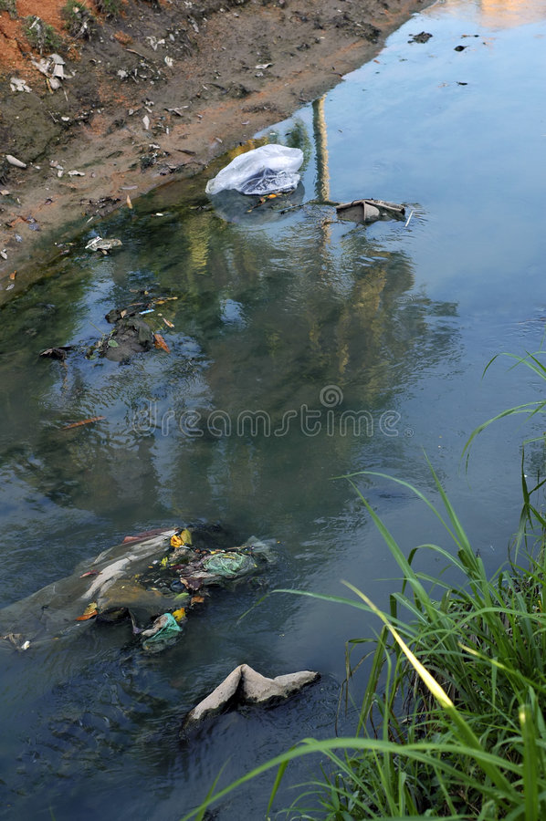 Free River Pollution Stock Photos - 3098903