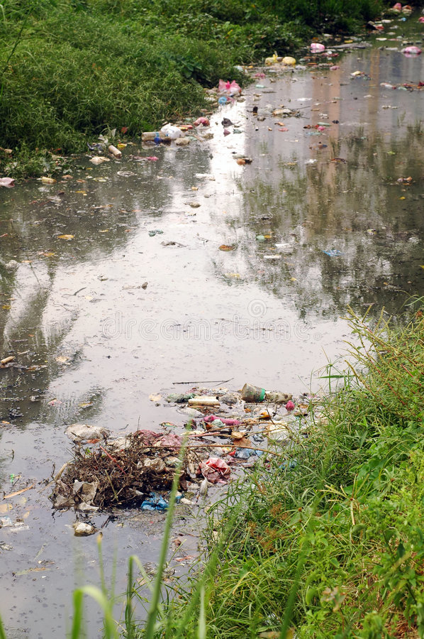 Free River Pollution Stock Images - 8120674
