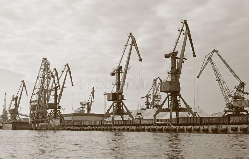 Download River port stock image. Image of shipment, train, fertilizer - 16934195