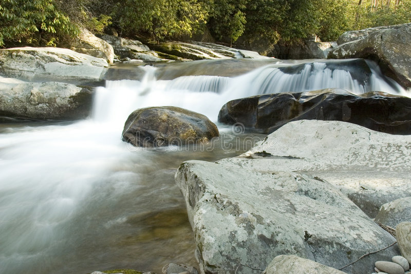River rapids - Great Smoky Mountains National Park royalty free stock photography