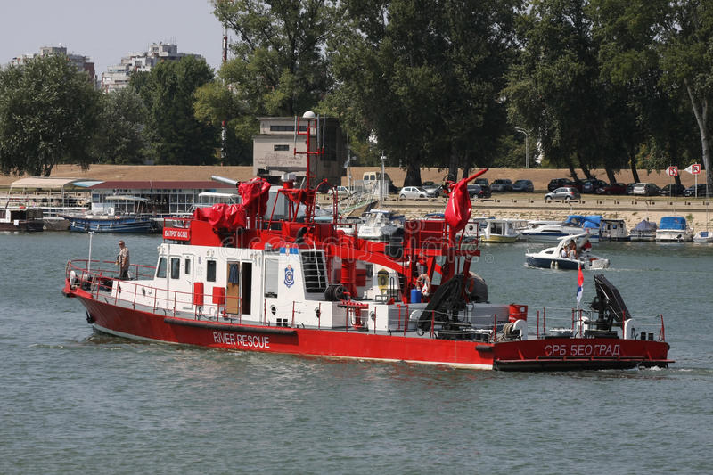 River rescue ship
