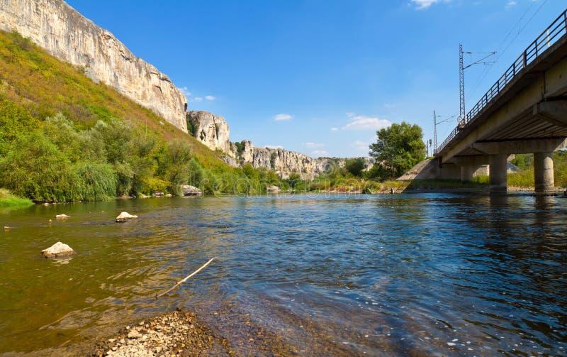 River Rocks royalty free stock photography