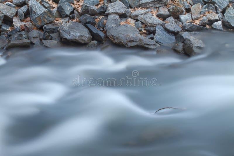 River and Rocks Long Exposure stock photos