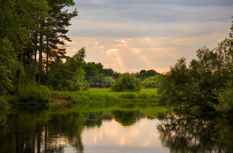 River in Russia. This is image of river in Russia stock photography