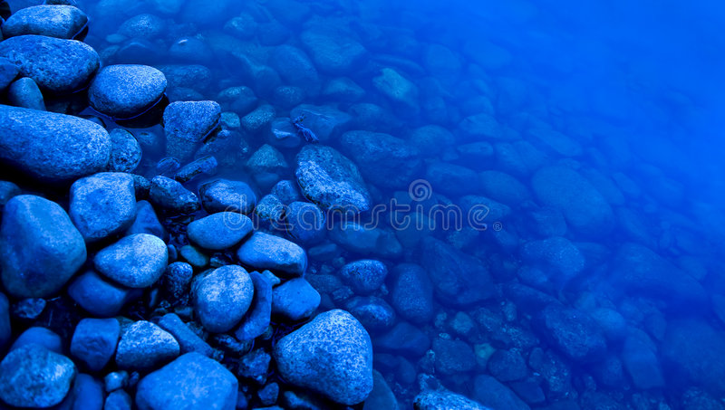 River's edge stock images