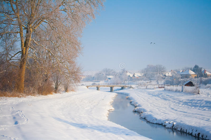 Download River scenery stock photo. Image of frost, landscape - 22391866