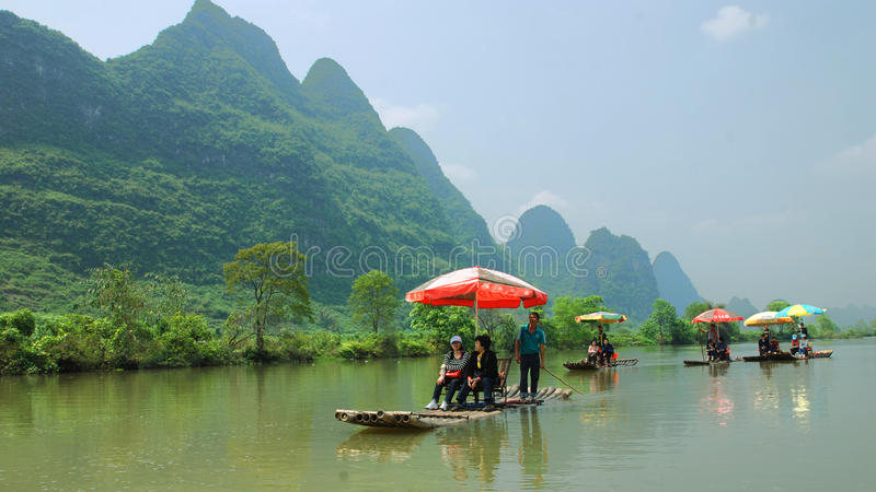 When a river scenery royalty free stock photo