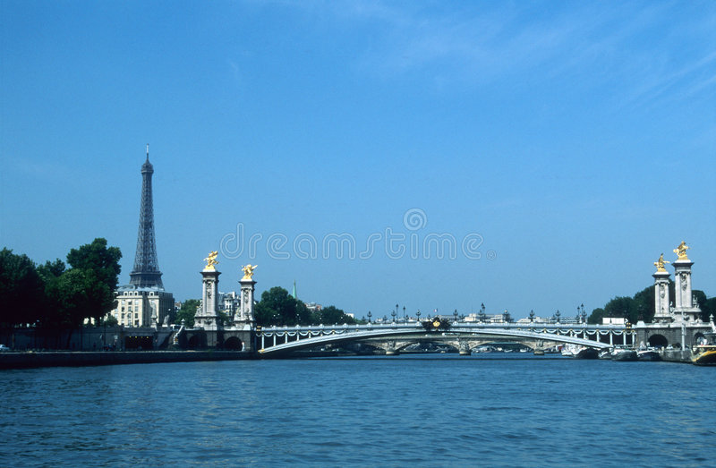 River Seine, Paris, France royalty free stock photos