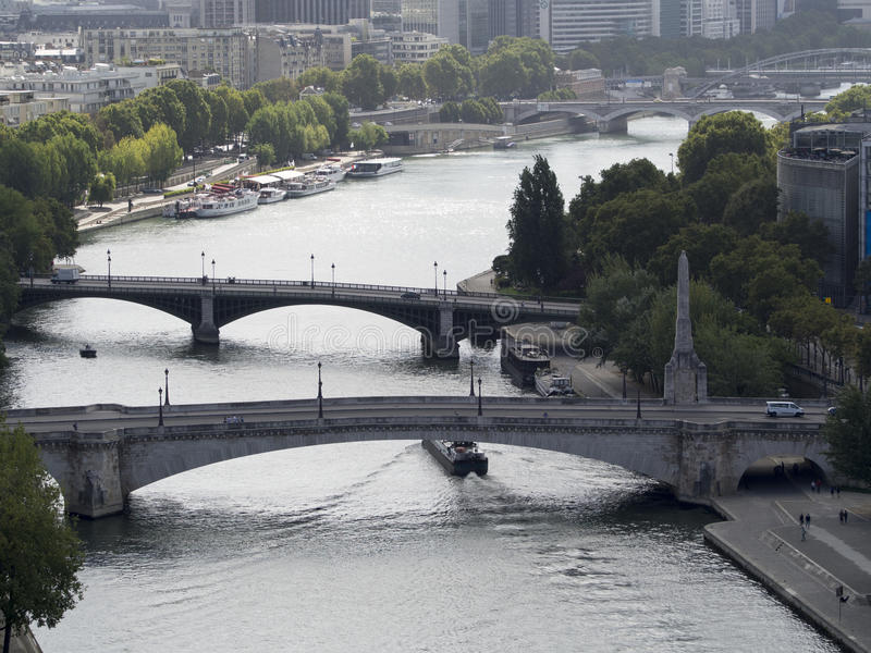River Seine, Paris royalty free stock photo